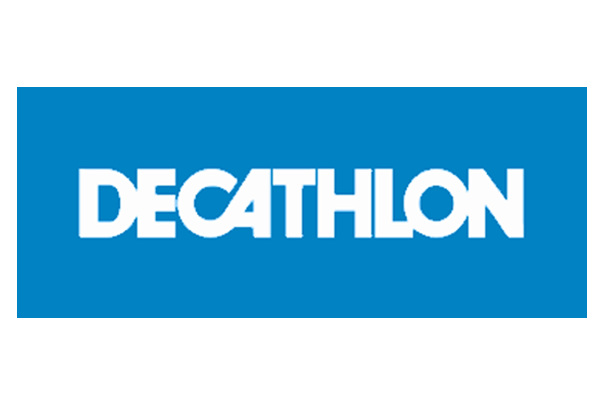 Decathlon logo reklama