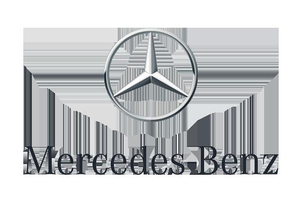 Mercedes logo reklama