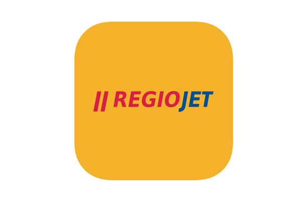 RegioJET logo vlak